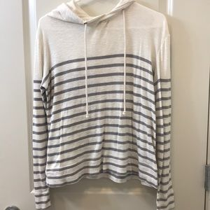 J. crew Slouchy Nautical Pullover